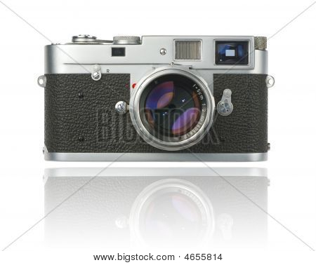 35Mm Rangefinder With Clipping Path