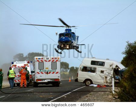 Road Accident and Evacuation
