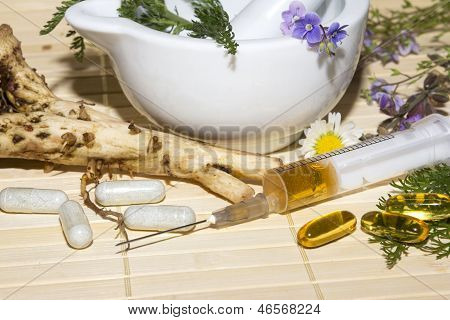 Alternative Medicine And Herbal Extracts