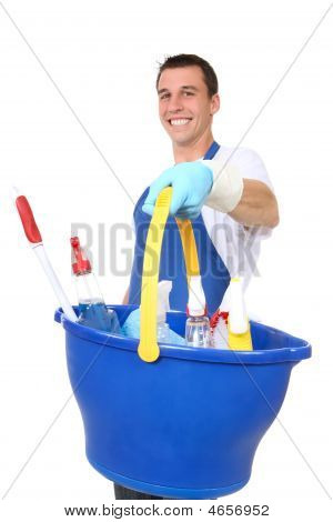 Handsome Man Cleaner