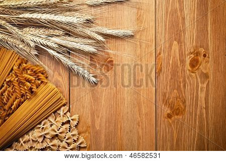 Pasta With Wheat