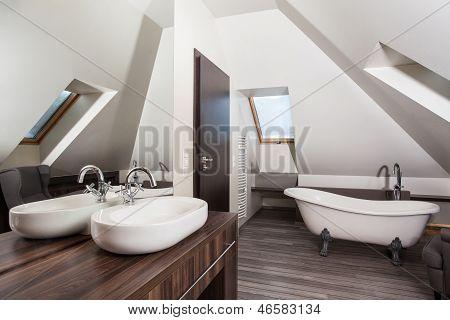 Casa de campo - casa de banho
