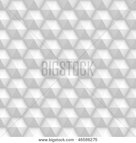 White seamless background texture. Simple clean background texture. 3D Vector interior wall panel pattern.