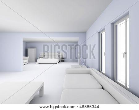 Interior do loft