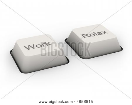 Work And Relax Buttons
