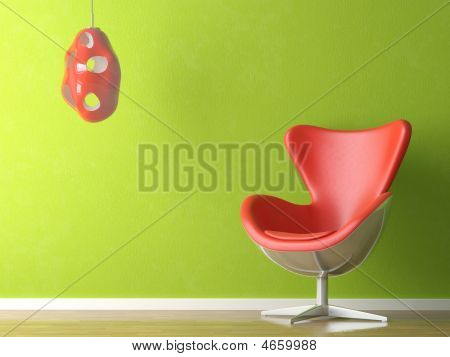 Green And Red Interior