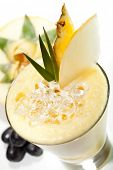foto of fruit shake  - Smoothie with Melon - JPG