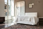 image of genova  - beautiful hotel room in historic building - JPG