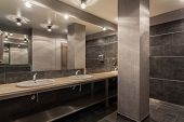 stock photo of wash-basin  - Woodland hotel  - JPG