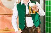 image of stein  - Man in Bavarian Tracht - JPG