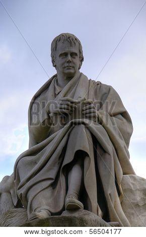 EDINBURGH - MAY 28: Sir Walter Scott statue May 28, 2009 in Edinburgh, Scotland