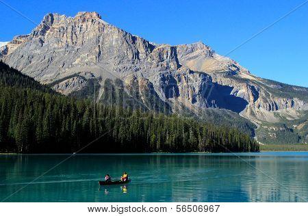 Emerald Lake, Yoho National Park, British Columbia, Canada