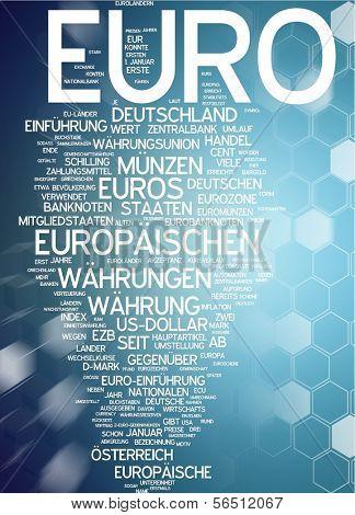 Word cloud -  euro