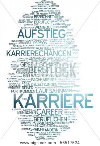 Word cloud -  career