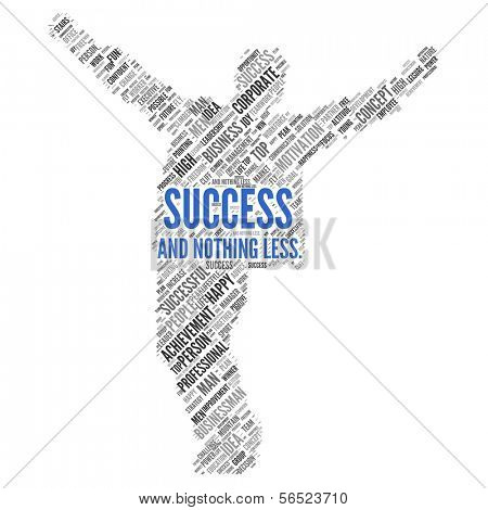 "Motivation quote | ""Success and nothing less"""