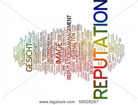 Word cloud -  reputation