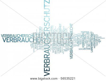 Word cloud -  consumer protection