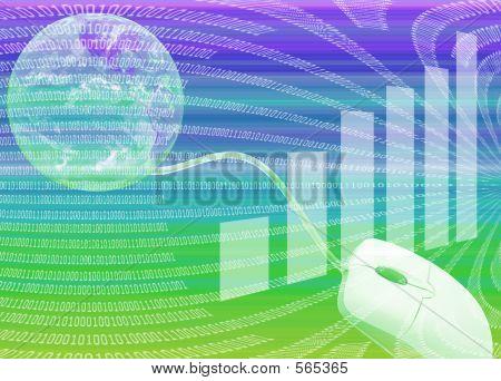 Internet 3d Illustration