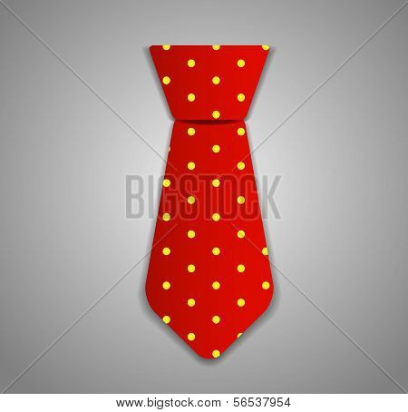 Necktie Vector Illustration