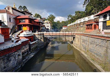 Pashupatinath Hindu Temples. Nepal