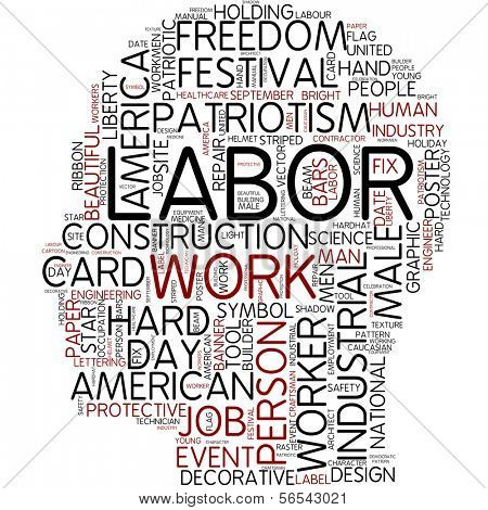 Info-text graphic - labor