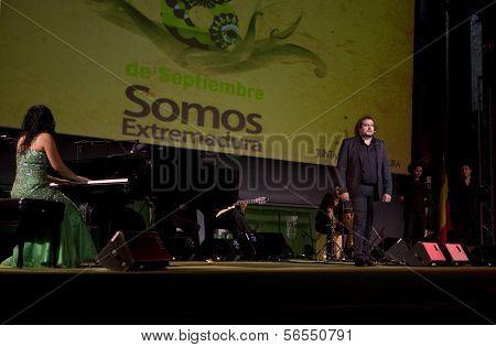 Miguel De Tena And Rosario Montoya