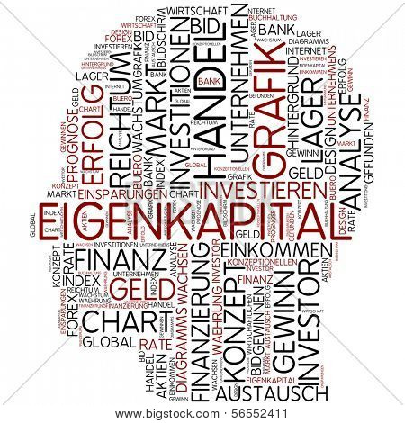 Info-text graphic - equity