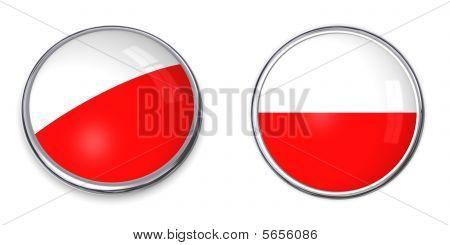 Banner Button Poland
