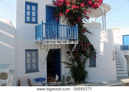 Folegandros Architecture