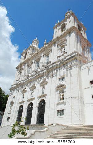 Santa Engrácia Church In Lisbon, Portugal