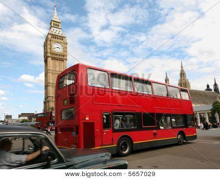 London big Ben und double Decker bus