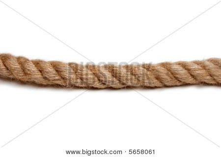 Rope Isolated On White