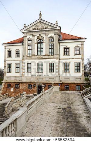 Fryderyk Chopin Museum In Ostrogski Palace