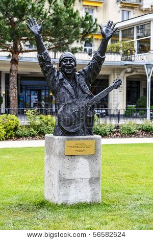 Statue To Carlos Santana, Montreux