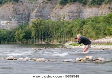 Photographer In Ardeche