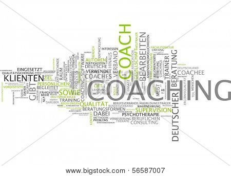 Word cloud - coaching