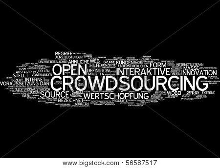 Wort-Wolke - crowdsourcing