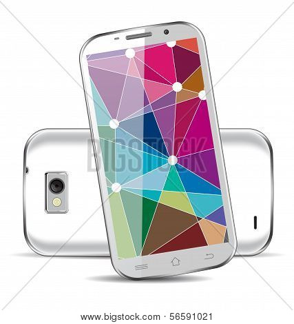 Mobile / Tablet / Smartphone Vector Illustration