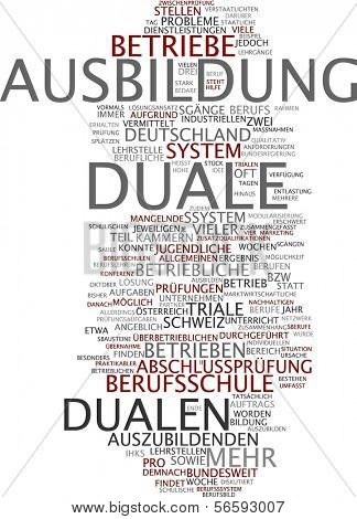Word cloud - dual training