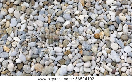 Stones And Pebbles.