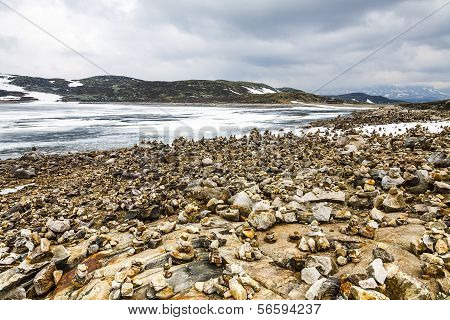Icy Arctic Landscape