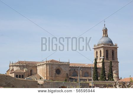 The Cathedral of Santa María, Ciudad Rodrigo, Spain