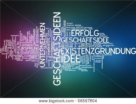 Word cloud - business idea