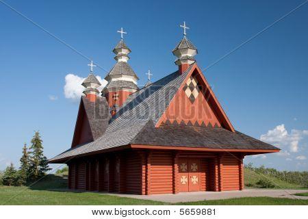 Ukranian Log Church