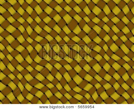 Brown Yellow Weave