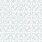 picture of bohemian  - Art deco vector geometric pattern in silver white - JPG