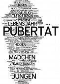 pic of puberty  - Word cloud  - JPG