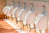 White Urinal For Men
