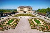pic of schoenbrunn  - Crown prince privy garden of Schonbrunn Palace in Vienna - JPG