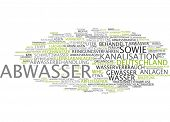 image of wastewater  - Word cloud  - JPG